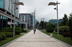 Centro affari e uffici a Novi Beograd