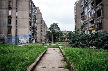 Edilizia popolare a Novi Beograd