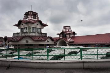 Il vecchio mercato al centro di Belgrado