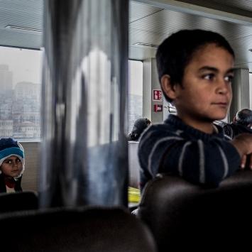 I traghetti sono uno dei mezzi più utilizzato dai cittadini turchi per spostarsi da una zona all'altra.