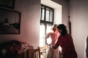 Anche i più piccoli vengono coinvolti nelle rivisitazioni tradizionali di balli e canti tipici della tradizione paloc