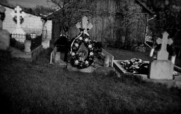 Cimitero nei pressi del monastero di Voronet